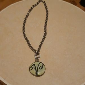 Never worn initial necklace